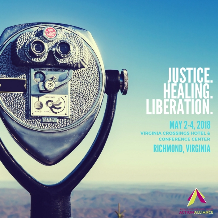 Justice. Healing. Liberation. Square